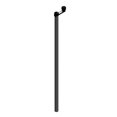RapidRoll Portable Barrier, Centre Shaft & Crank Handle