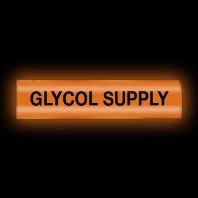 Reflective Opti-Code™ Pipe Markers - Gylcol Supply