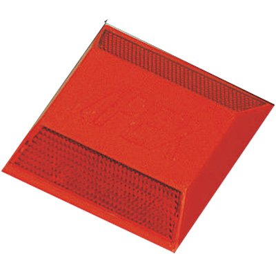 Reflective Pavement Markers - 2-Way Red Reflector