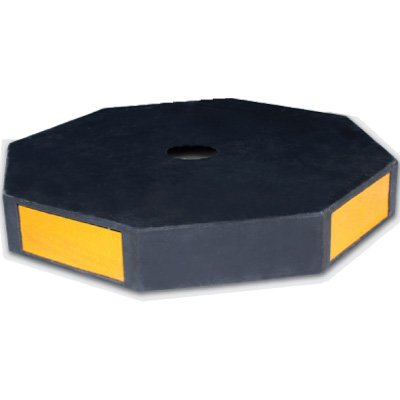 Reflective Universal Rubber Sign Base