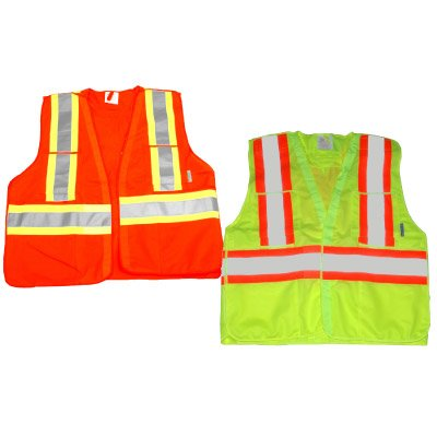 RefleX Wear High-Visibility Nighttime CSA Traffic Vests