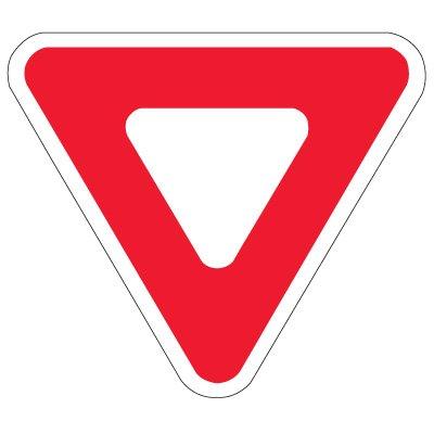 Regulation Traffic Control Signs - Yield