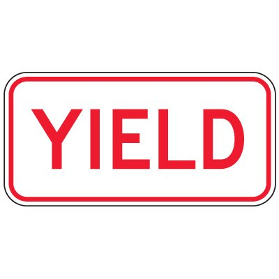 Regulation Traffic Control Signs - Yield
