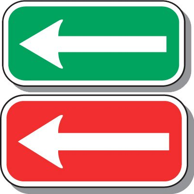 Reserved Parking Signs - 1-Way Arrow