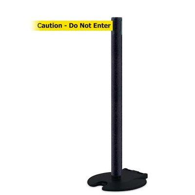 Caution Do Not Enter - Rollabarrier® Post