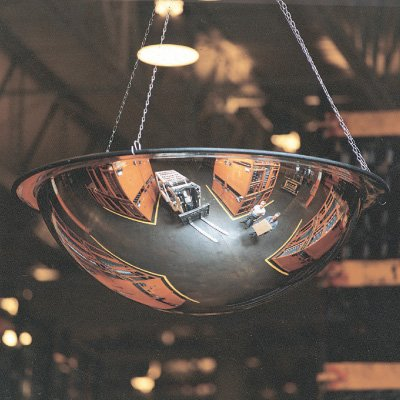 Safety Mirrors - Full Dome With or Without Ceiling Tiles