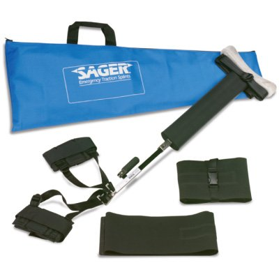 Form III Bilateral Traction Splint Sager&reg^ Model S304