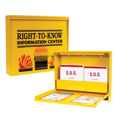SDS Right To Know Metal Cabinet Kits