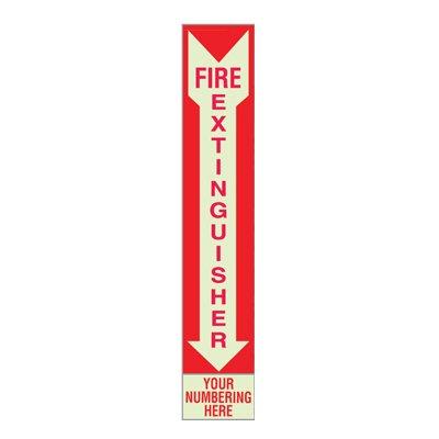 Semi-Custom Fire Extinguisher Sign