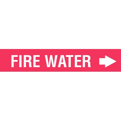 Setmark® Fire Protection Markers - Fire Water