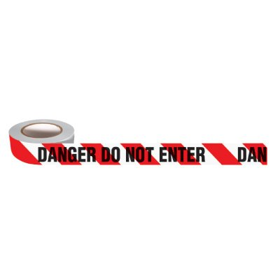 Standard Barricade Tape - Attention Entr