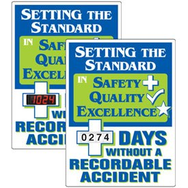 Stock Scoreboards - Days Without Recordable Accident