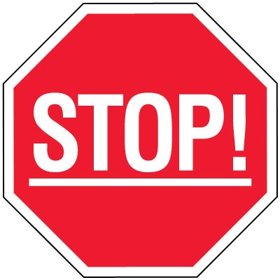 Stop Signs - Stop!