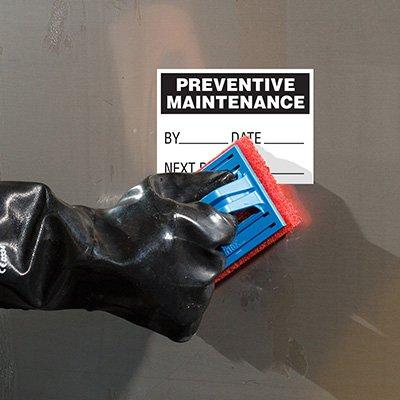 ToughWash® Labels - Preventative Maintenance