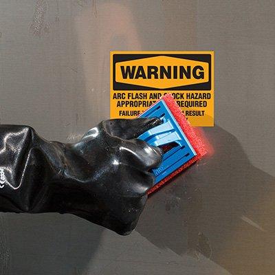 ToughWash® Labels - Warning Arc Flash