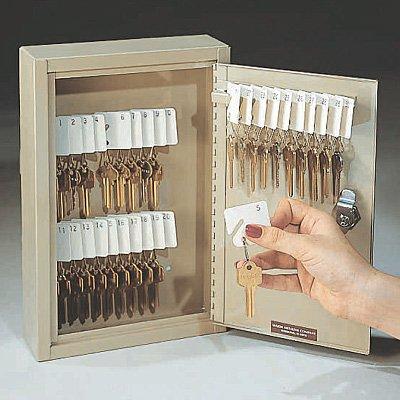 Wall-Mounted Key Cabinets