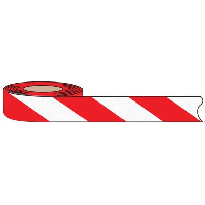 Nadco Waterproof Anti-Slip Tapes and Strips - Red and White Stripes ASV-2SR