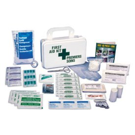 Truck Specialty First Aid Kit - Metal
