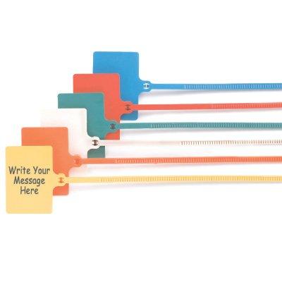Write-On Tag Ties