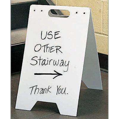 Write-On/Wipe-Off Floor Stands
