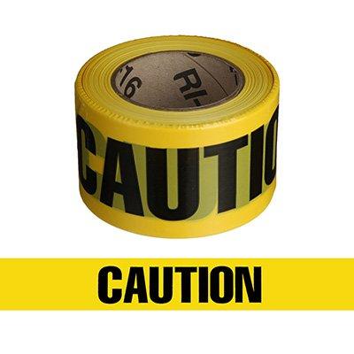Economy Printed Barricade Tape - Caution