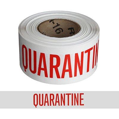 Quality Control Barricade Tape - Quarantine