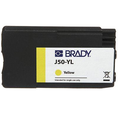 Brady J50-YL BradyJet J5000 Ink Cartridge - Yellow