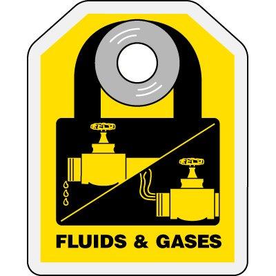 Fluids & Gases - Hazard ID Padlock Tags