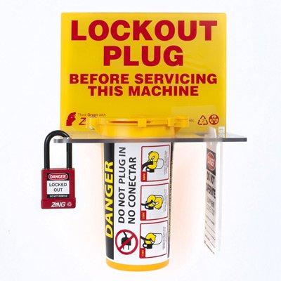 Zing® RecycLockout Lockout Tagout Station, Lockout Plug
