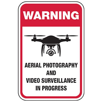 Warning: Aerial Surveillance in Progress