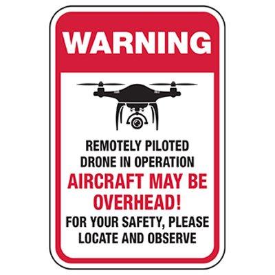 Warning: Aircraft May Be Overhead