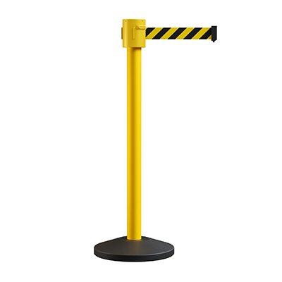 XL Yellow Retractable Belt Stanchions