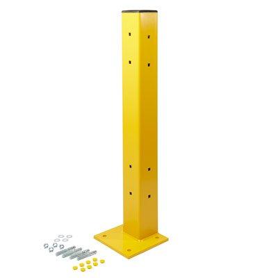 Ideal Steel Guardrail Offset Posts