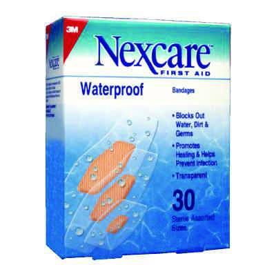 3m Nexcare Waterproof Bandages (Sterile)