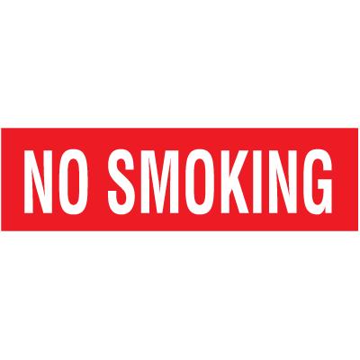No Smoking Self-Adhesive Vinyl Signs