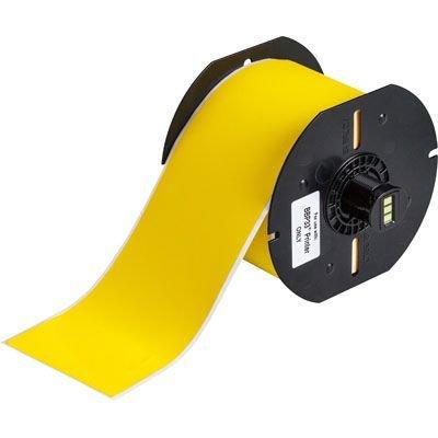 Brady B33C-3000-437YL BBP33 Label - Yellow