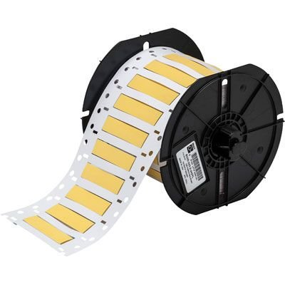 Brady B33D-250-2-342YL BBP33 Label - Yellow