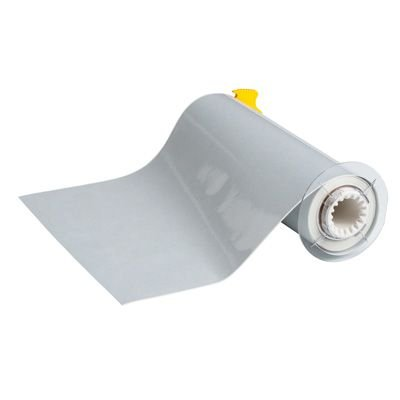 BBP®85 Series Label: Polyimide, Silver, 10 in W x 33 ft L