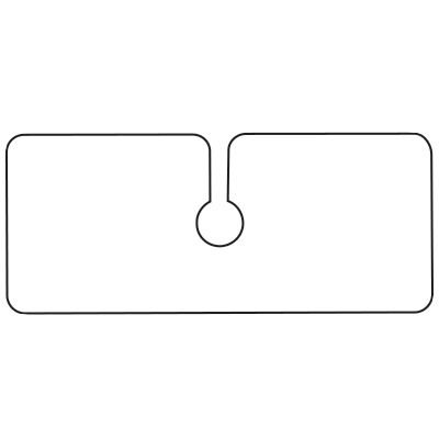 Blank Hanging Parking Permits