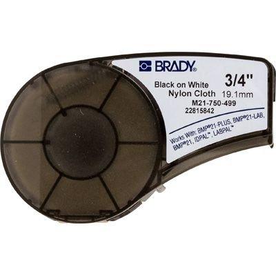 Brady M21-750-499 BMP21 Plus Label Cartridge - Black on White