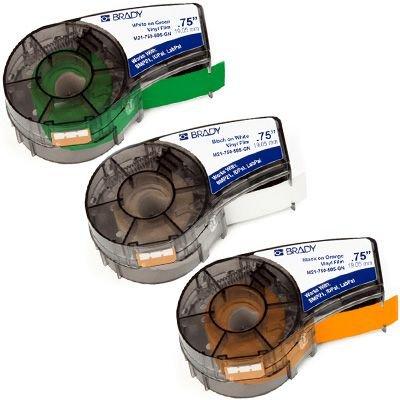 Brady® BMP®21-PLUS Label and Ribbon Supplies - Label Cartridges