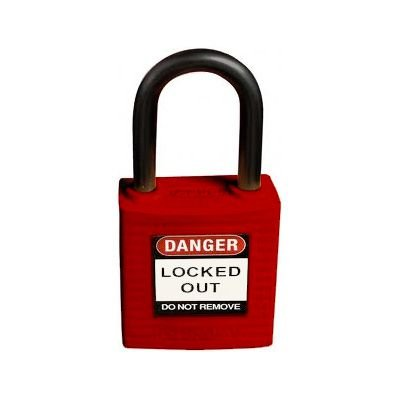 "Brady® Compact 1"" Shackle Safety Padlocks - Keyed-Differently"