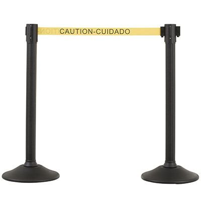 Caution Cuidado - Sentry Stanchions