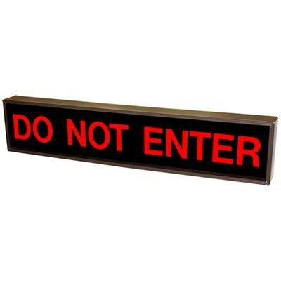 Do Not Enter Backlit LED Sign