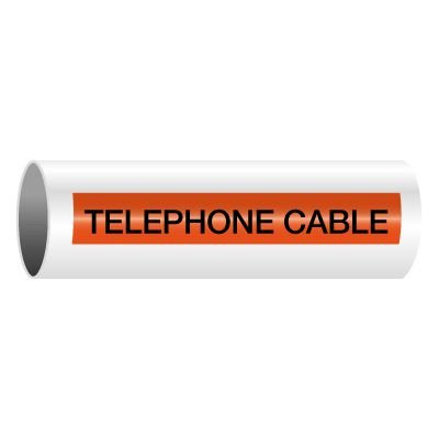 Telephone Cable - Self-Adhesive Electrical Markers