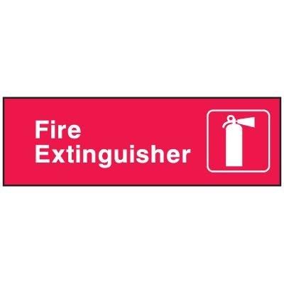 Emergency Corridor Signs - Fire Extinguisher