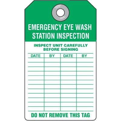 Emergency Eyewash Station Tag
