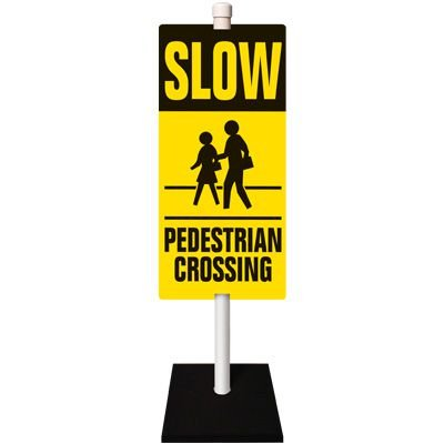 Pedestrian Traffic Warning Sign System
