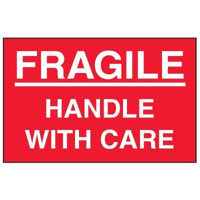Fragile Labels - Fragile Handle With Care