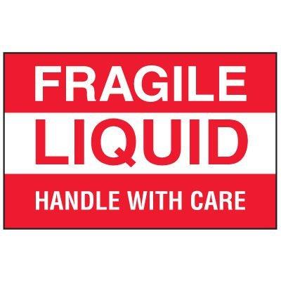 Fragile Labels - Fragile Liquid
